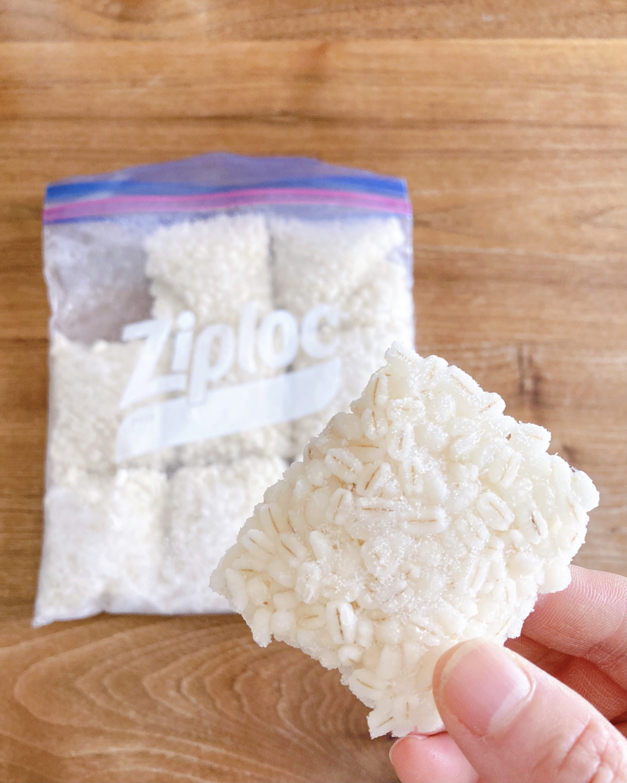 ※茹でたもち麦を小分けにして冷凍しておくと、少量でもさっと使えて便利です。